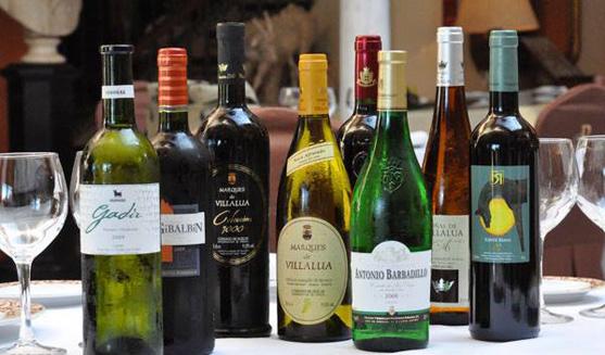 Botellas de vino para catar.